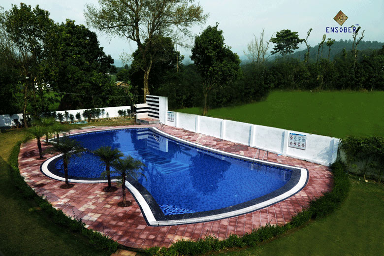 Swimming Pool - Corbett Panorama Resort