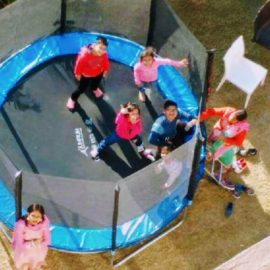 Corbett Panorama Resort - Activities - Trampoline