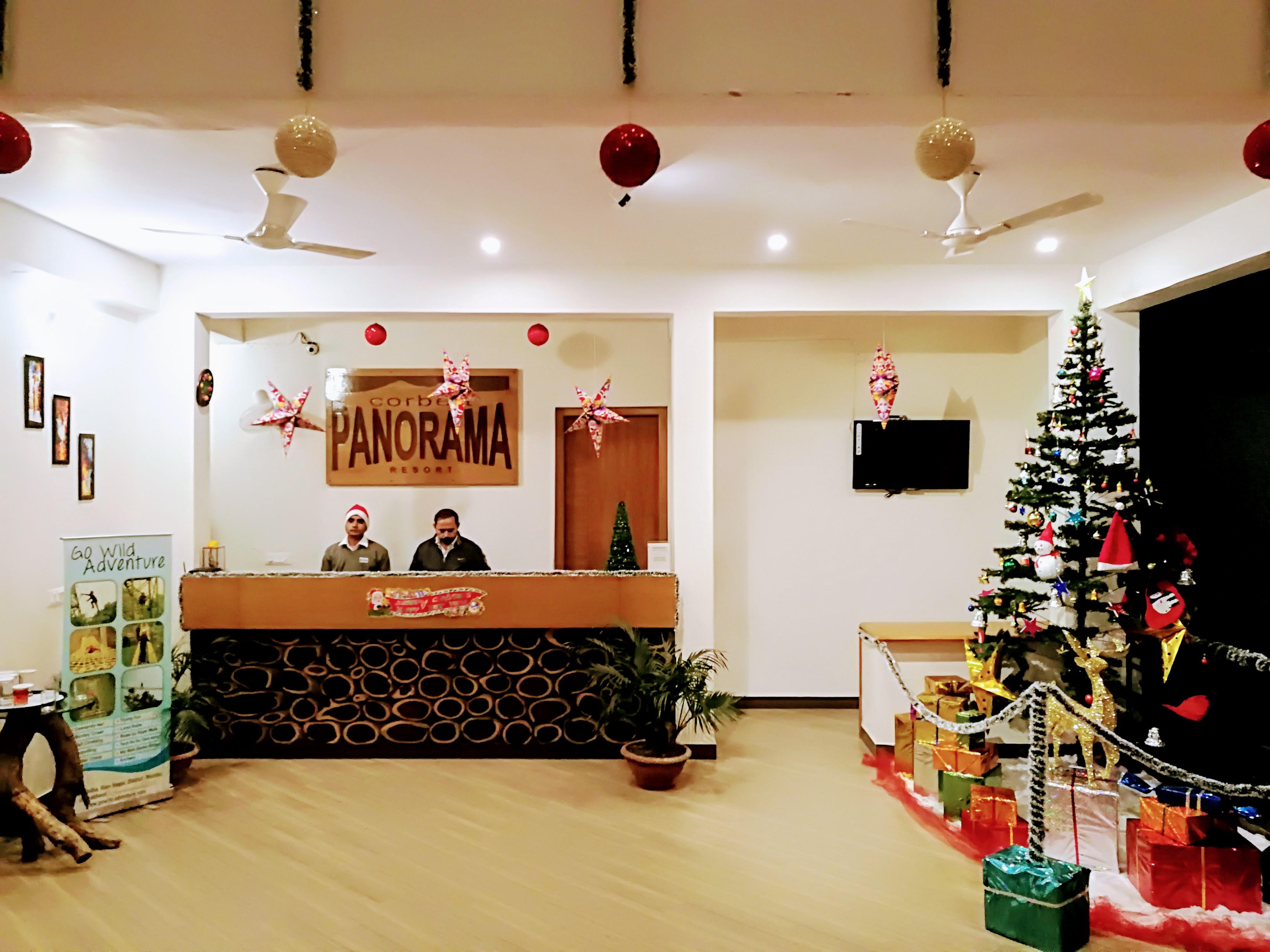 Corbett Panorama Resort Reception on Christmas